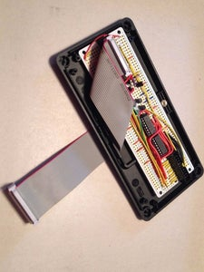 Cut the Ribbon Cable Notch