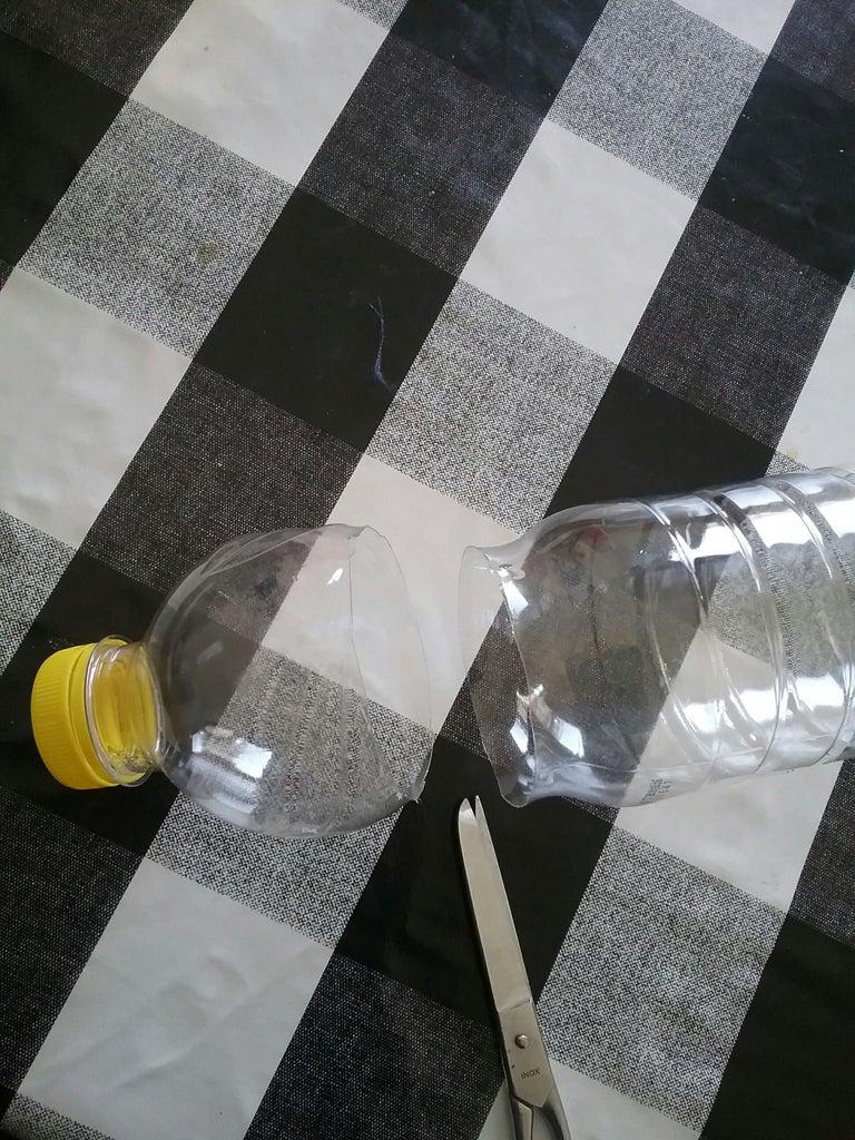 First Step: Cut the Bottles