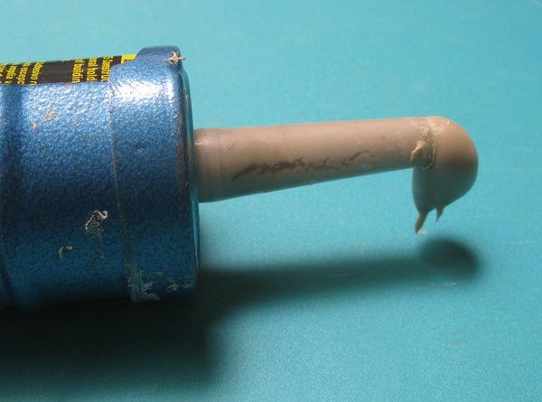 Resealing Half Used Caulk Tubes