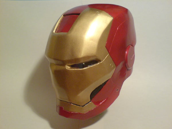 Iron Man 2008 Helmet