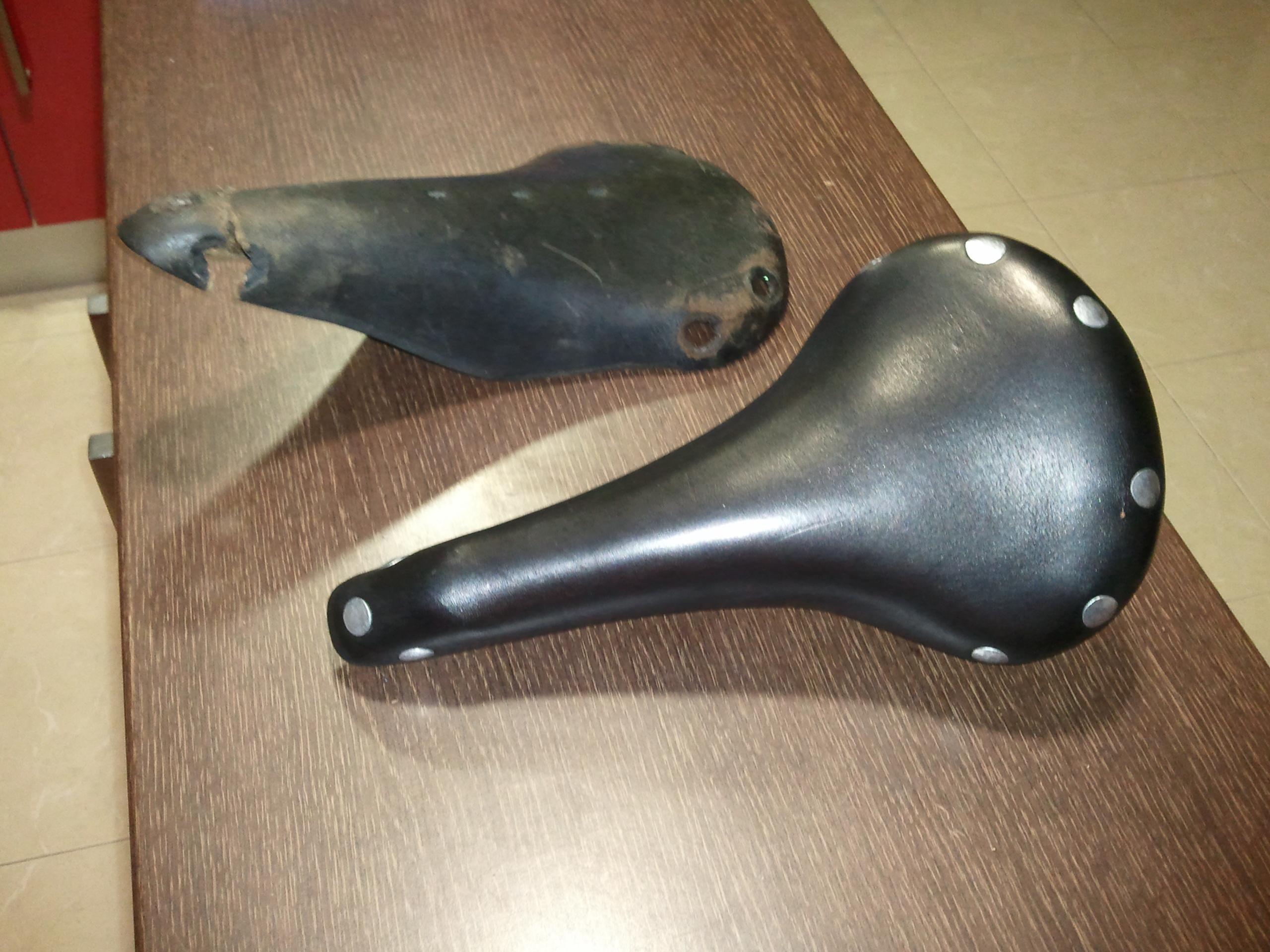 replace a leather brooks saddle.