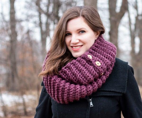 Crochet Convertible Infinity Scarf
