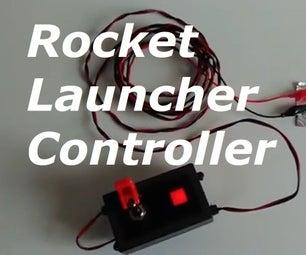 用于波形模型火箭的划痕内置发射器控制器