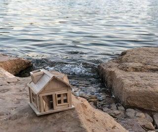 Easy Miniature Hut With Balsa Wood