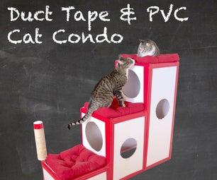 Duct Tape & PVC Cat Condo