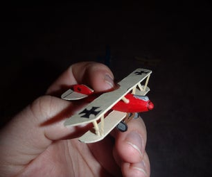 Scratch-built Model Airplanes (for Miniature Gaming)