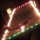 paper airplane runway lighting system