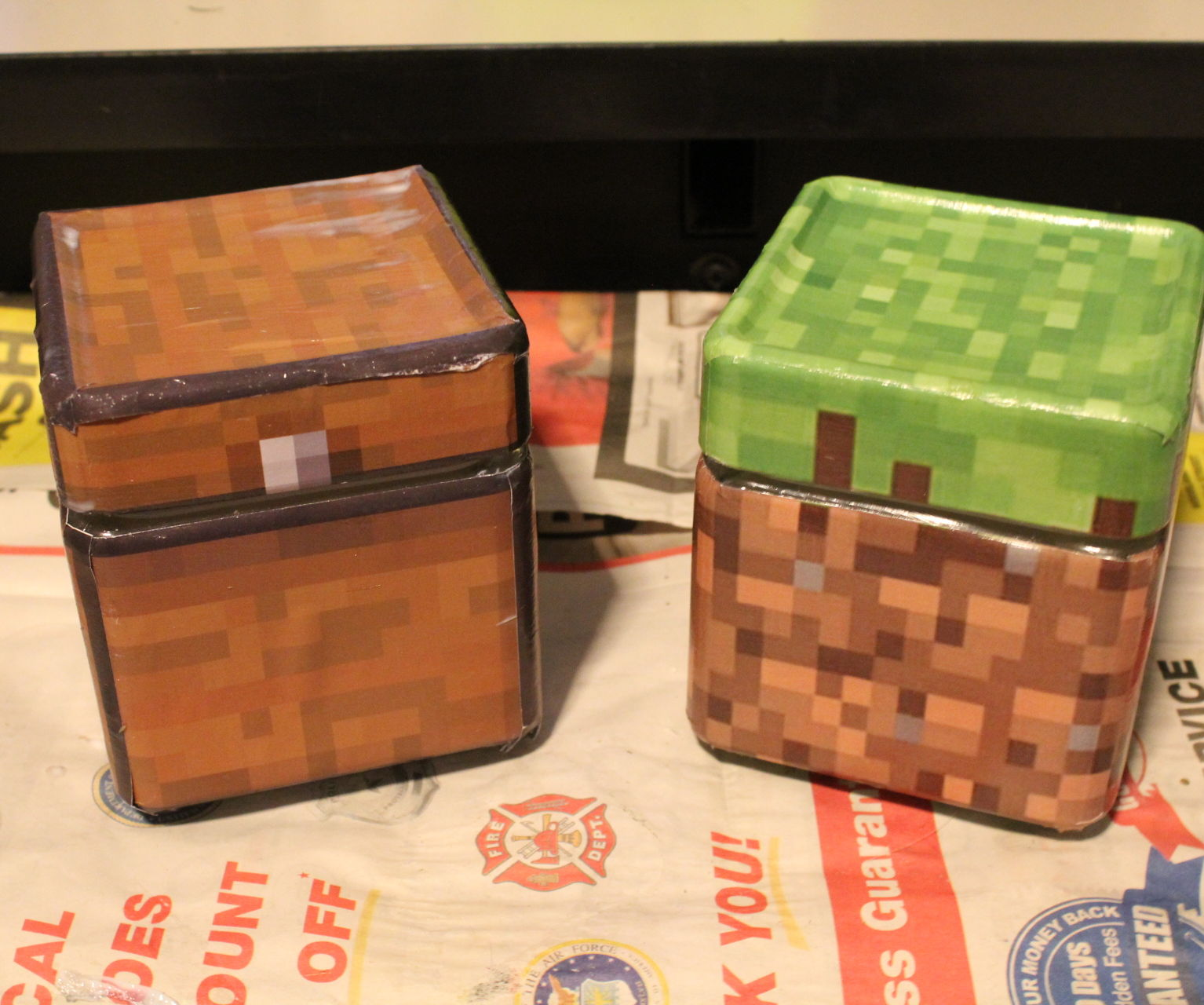 Dishwasher Safe Minecraft Cookie Jars