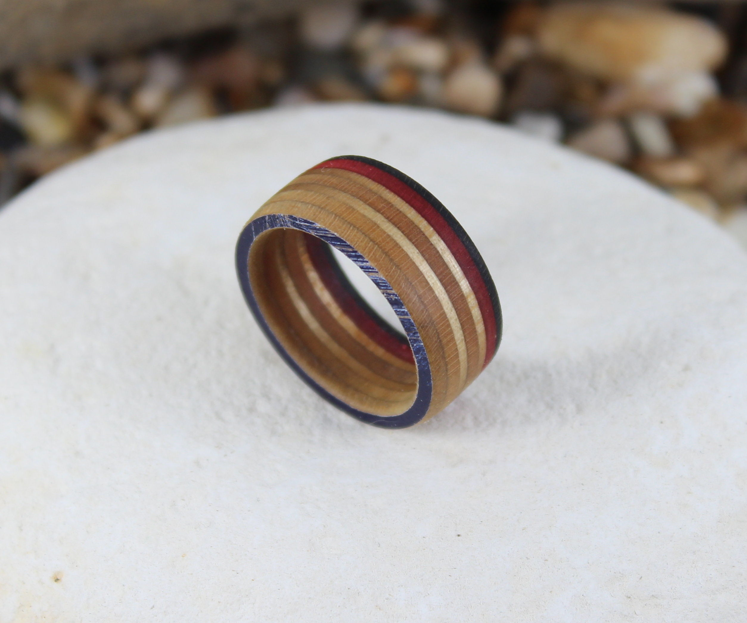 How To Make A Recycled Skateboard Ring