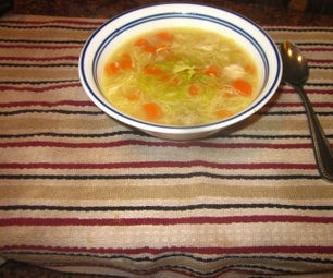 Fast & Easy Chicken Soup