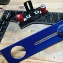 Spiral Cut saw circle cutter and a *detail router adaptor