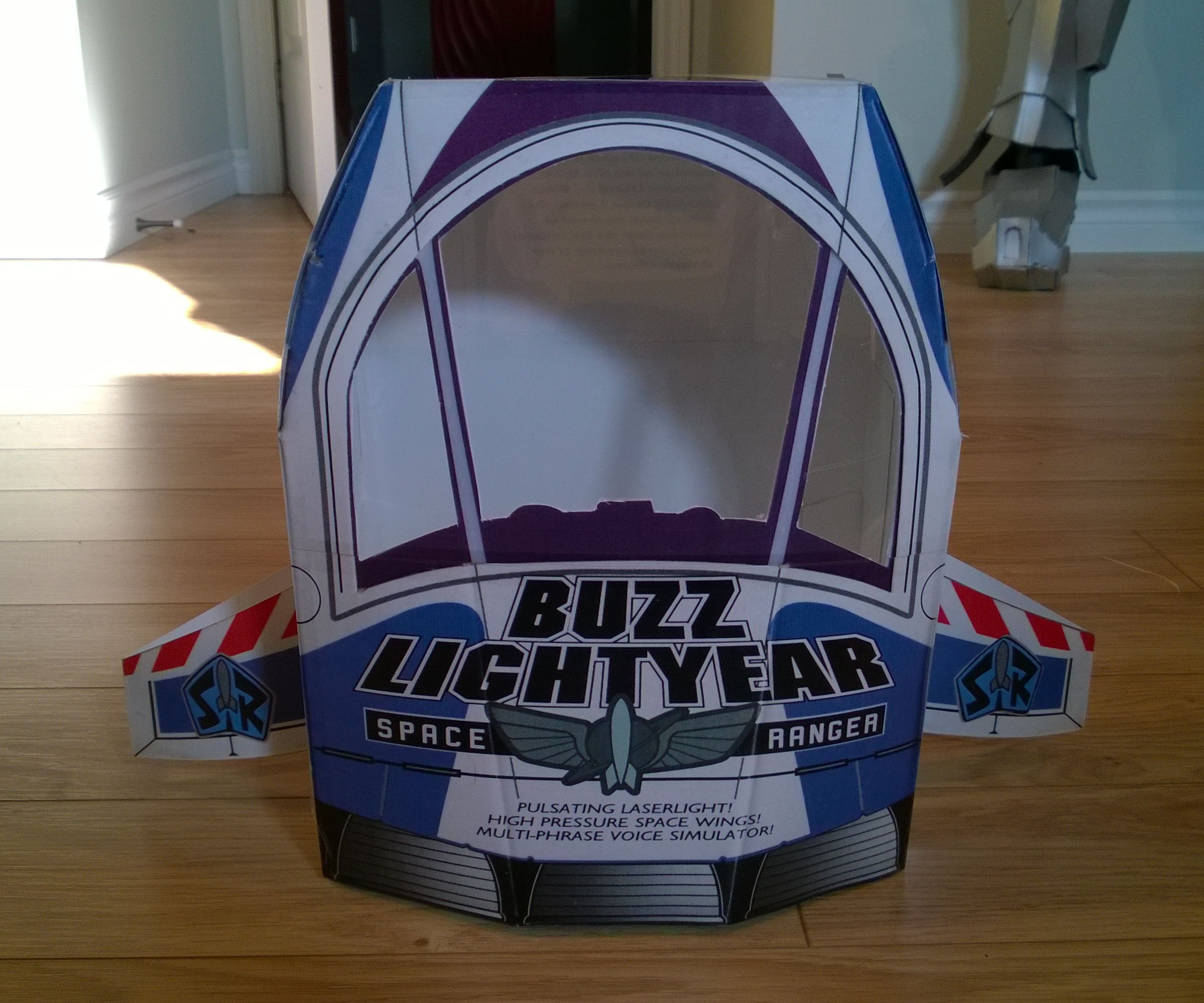 Buzz Lightyear's box (Spaceship)