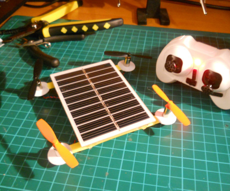 Solar Powered R/C Drone