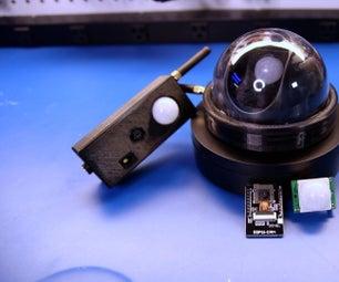 Discord安全摄像头带ESP32