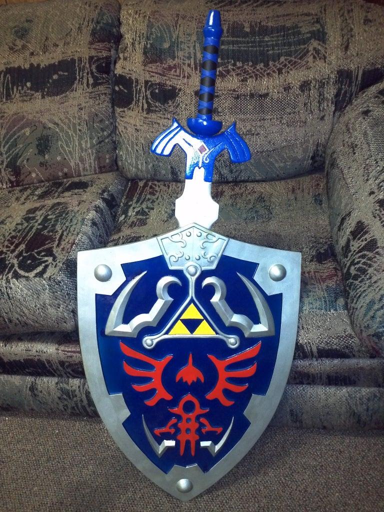 How to Make a Wooden Legend of Zelda Master Sword