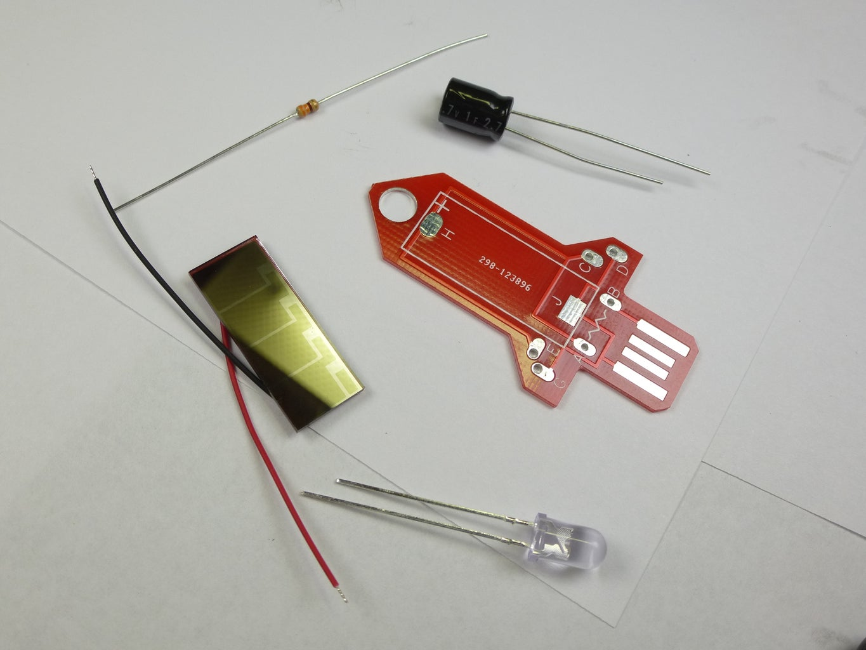 Rocket Kit - Beginner Solar Powered + LED