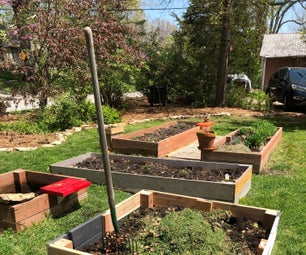 Raised Bed From Scrap Wood