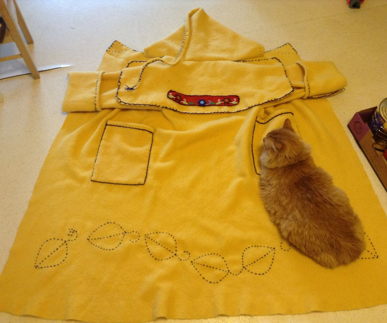 How to Make a Simple Blanket Coat