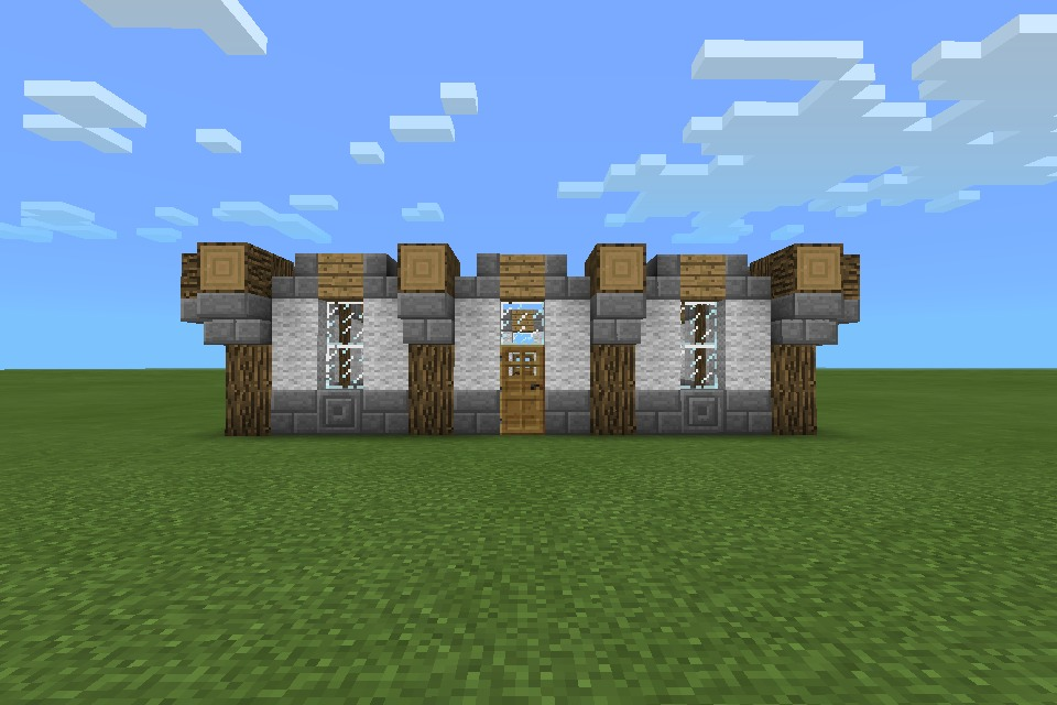 MINECRAFT PE: House
