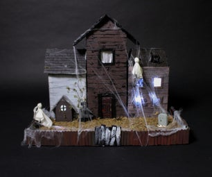 HAUNTED HOUSE with Arduino