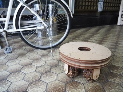 Wheel Stool !!!