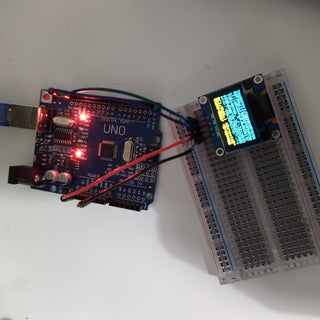 OLED I2c Display With Arduino