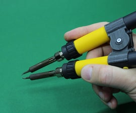 Soldering Iron to Soldering Tweezer Conversion