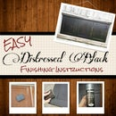 How to Create a Distressed Black Finish (easy)