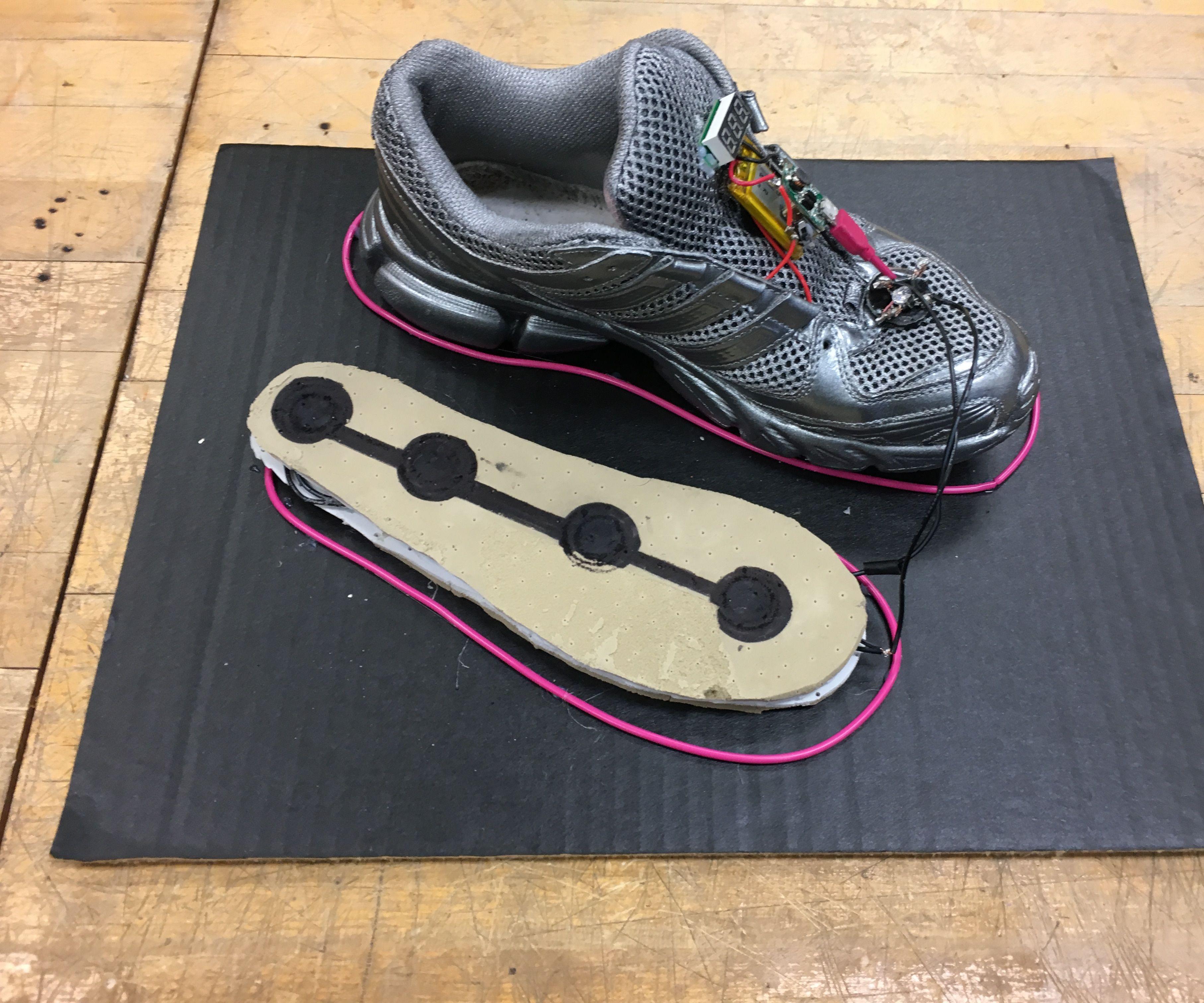 Mobile Charging Platform in Footwear