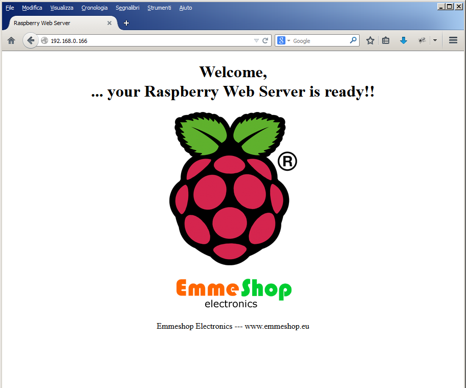 Raspberry Pi Web Server --- Nginx - PHP - MySql