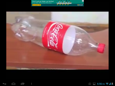 TAKE a PLASTIC BOTTLE AND MARK a CIRCULAR MARK AND CUT AS SHOWN IN THE PICTURES BELOW.