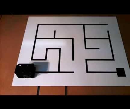 Robot Maze Solver