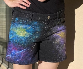 Painted Space Shorts