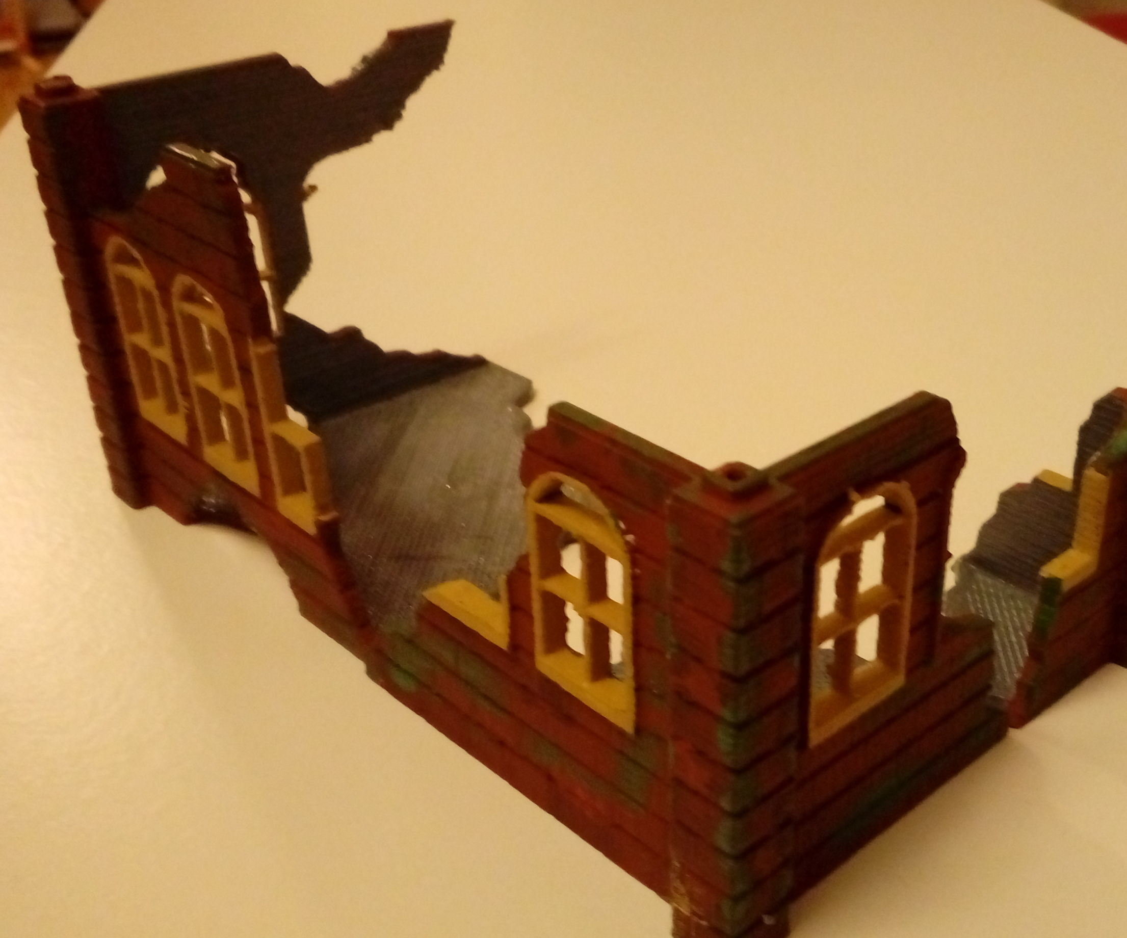 3d Print a Building / Obstacle / Scenery for Mini Figure Games E.g. Warhammer Etc