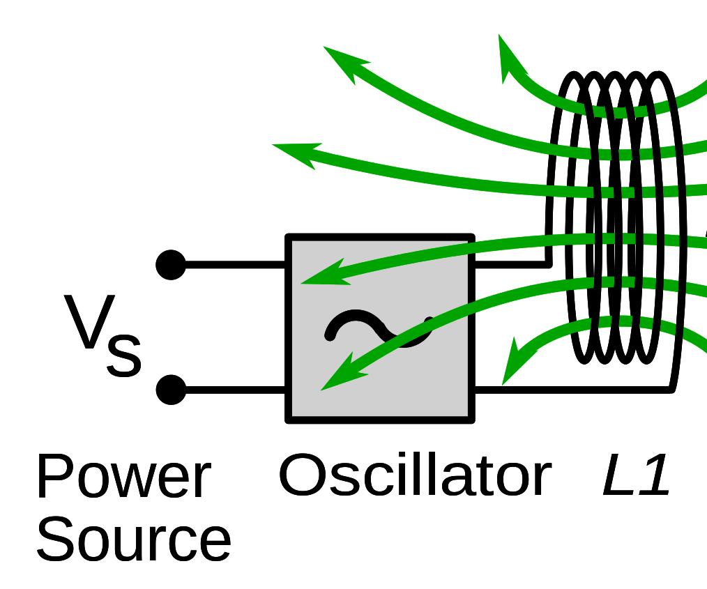 Wireless electric energy transfer circuit