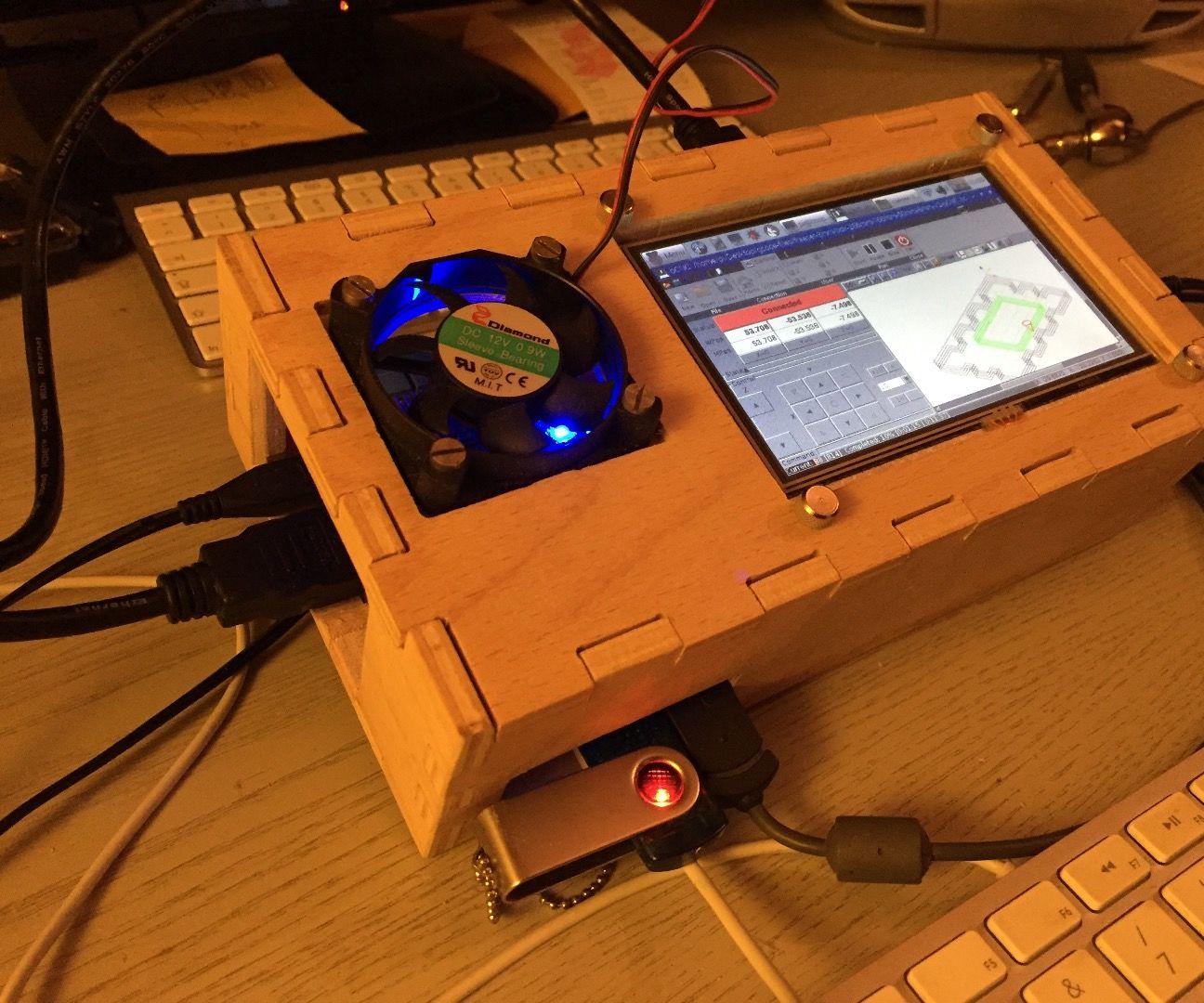Raspberry Pi CNC case