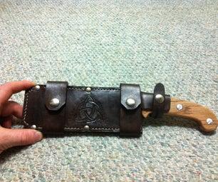 Make a Hedgehog Leatherworks Styled Sheathe