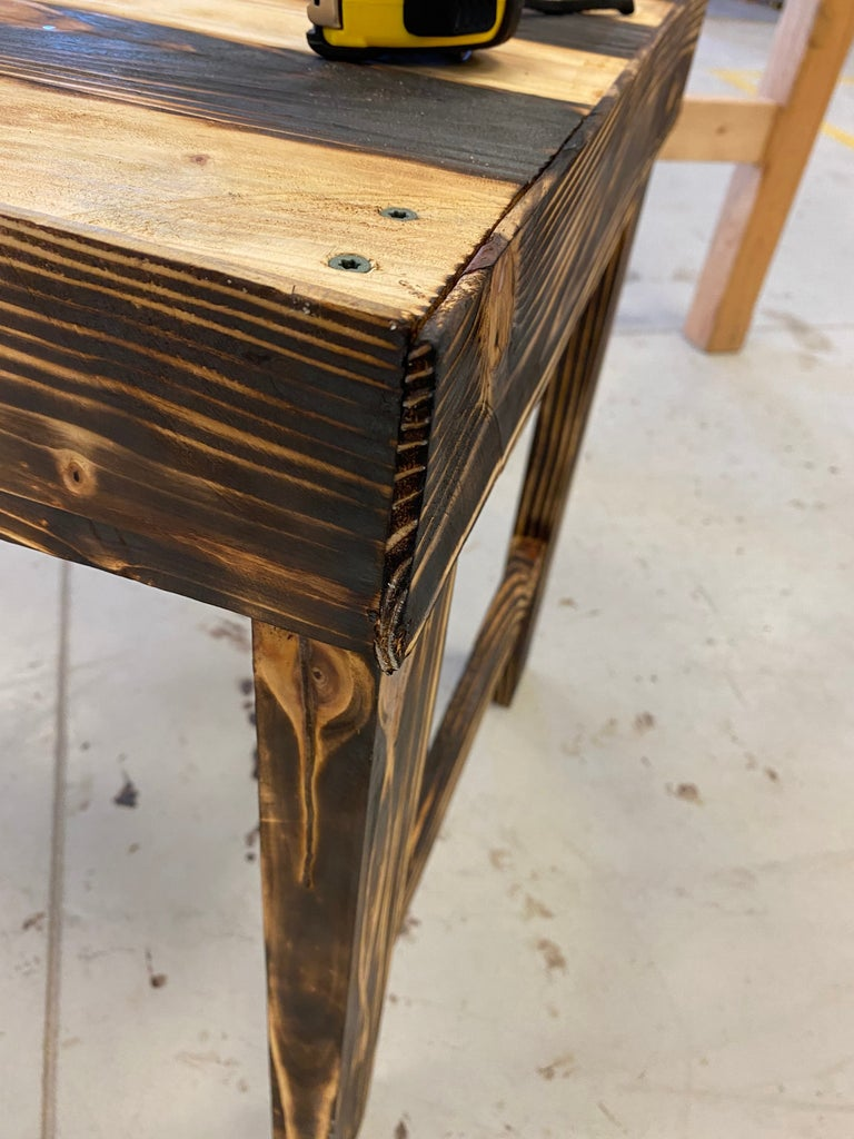 Cut Panels for Perimeter of Table