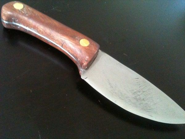 How I Made a Knife