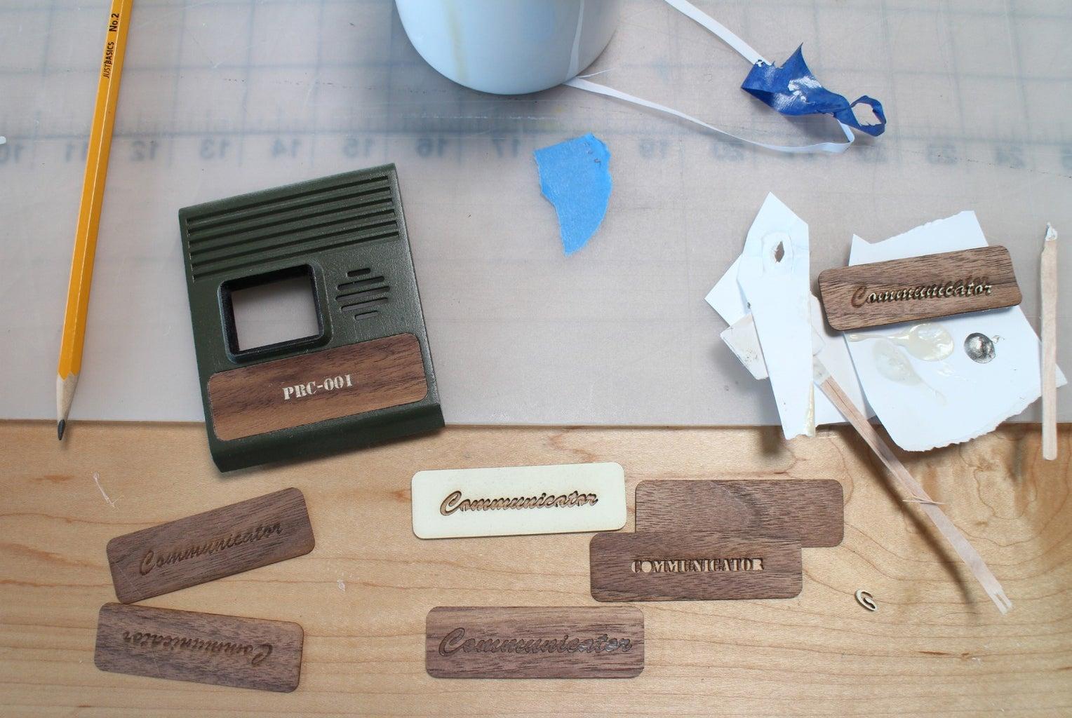 Wood Veneer Logo