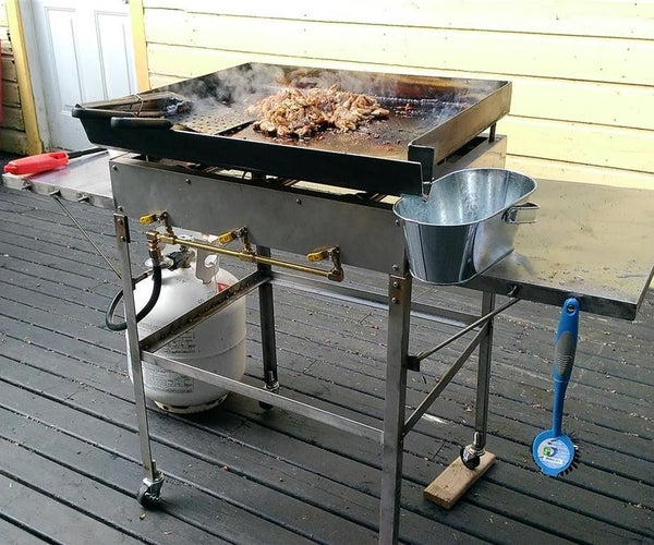 How to Make an Outdoor Griddle
