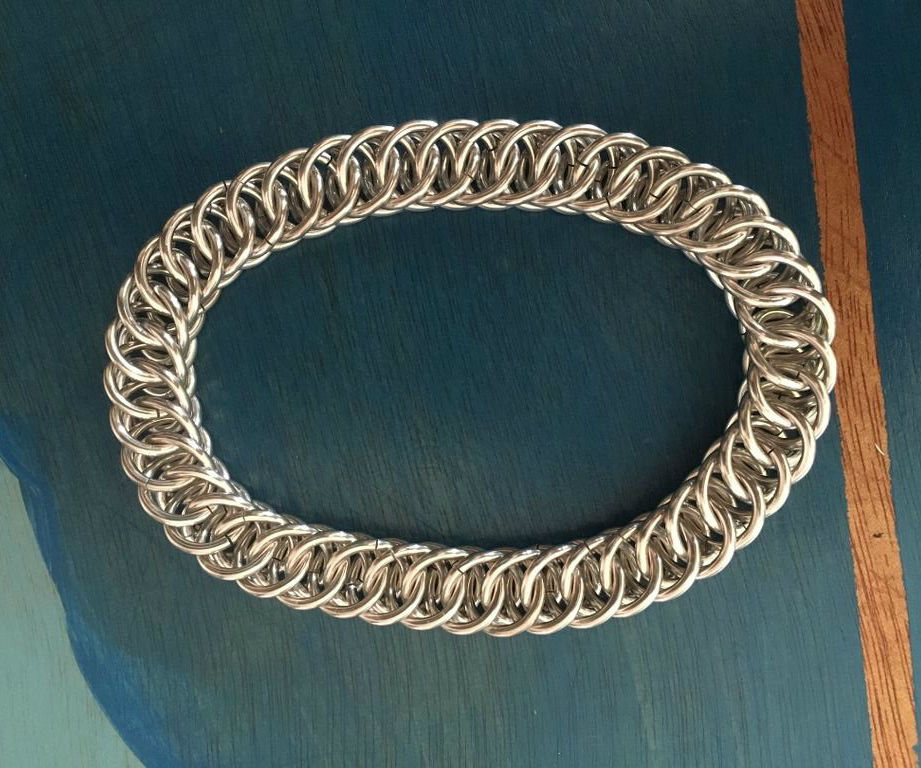 Chainmail Bracelet - Half Persian 4-1