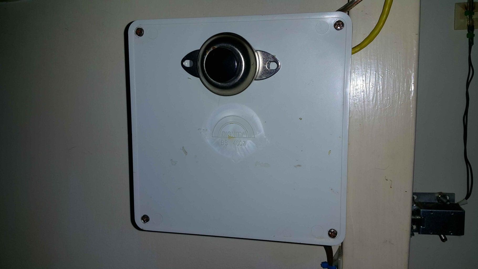 Illuminated Door Exit Switch.