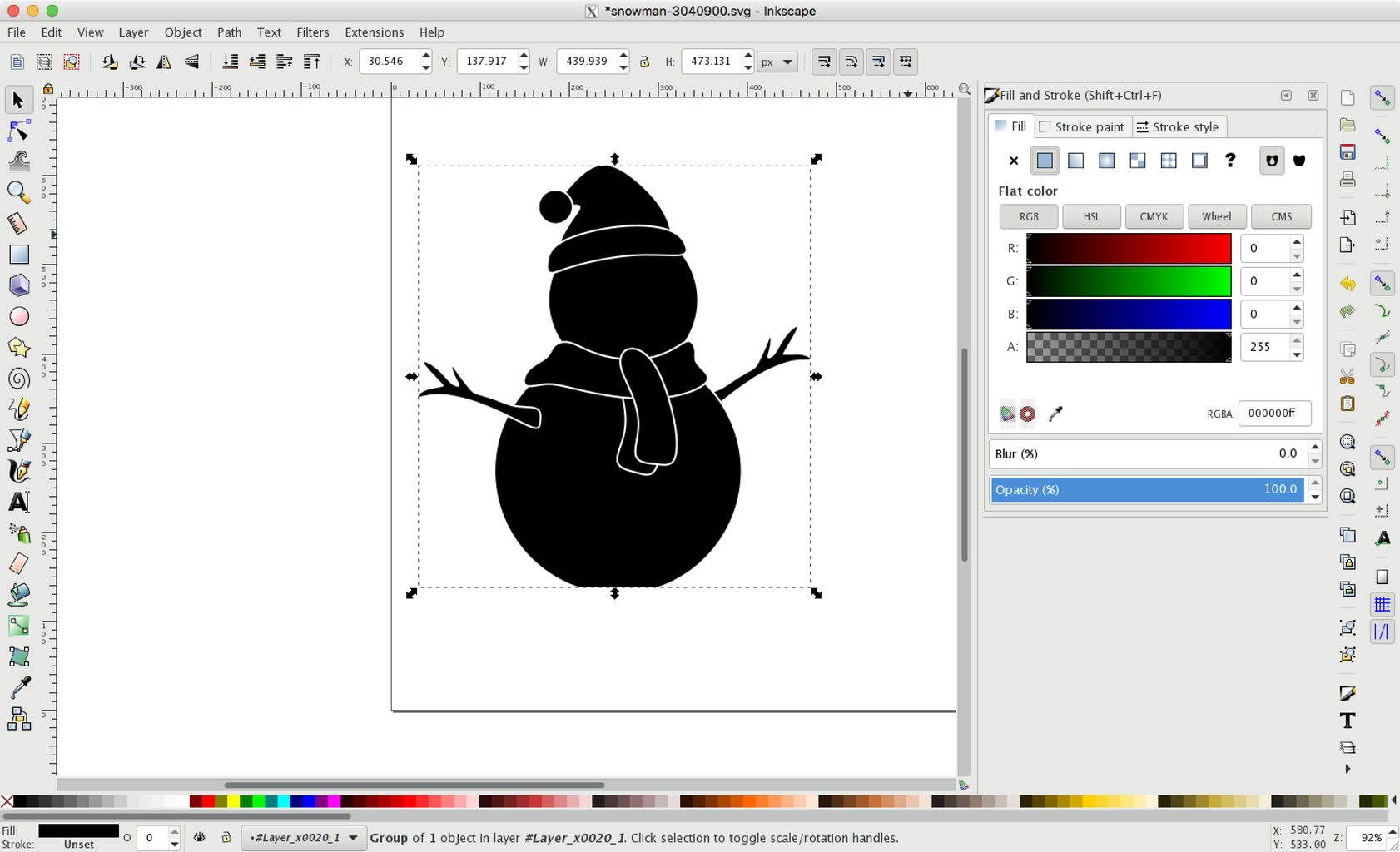 Save the Simplified Snowman