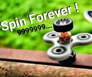 Fidget Spinner That Spins Itself !