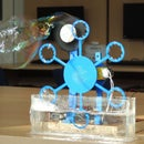 Bubble Blister Robot Machine Educational Kit for Kids