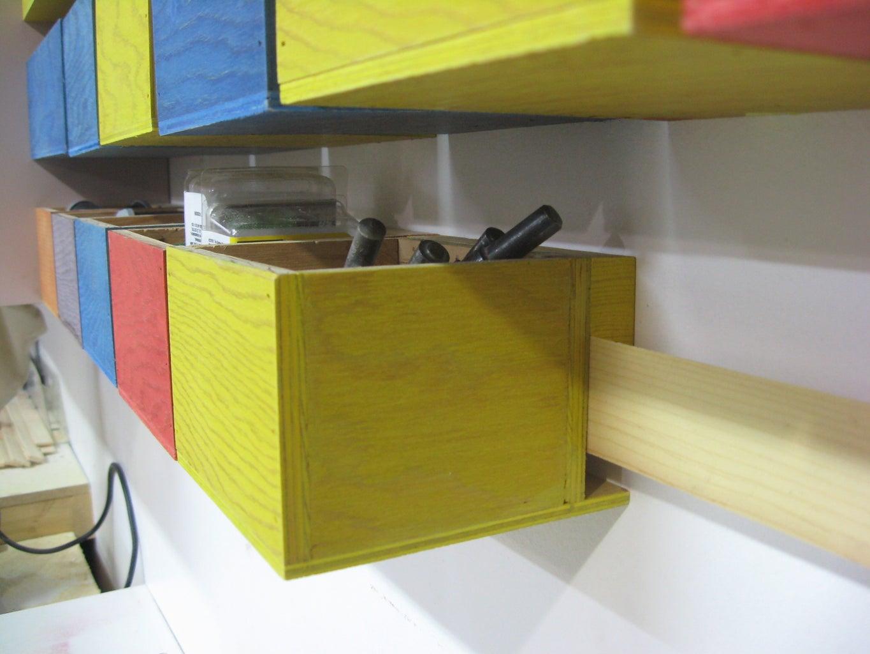Simple Hardware Storage Bins