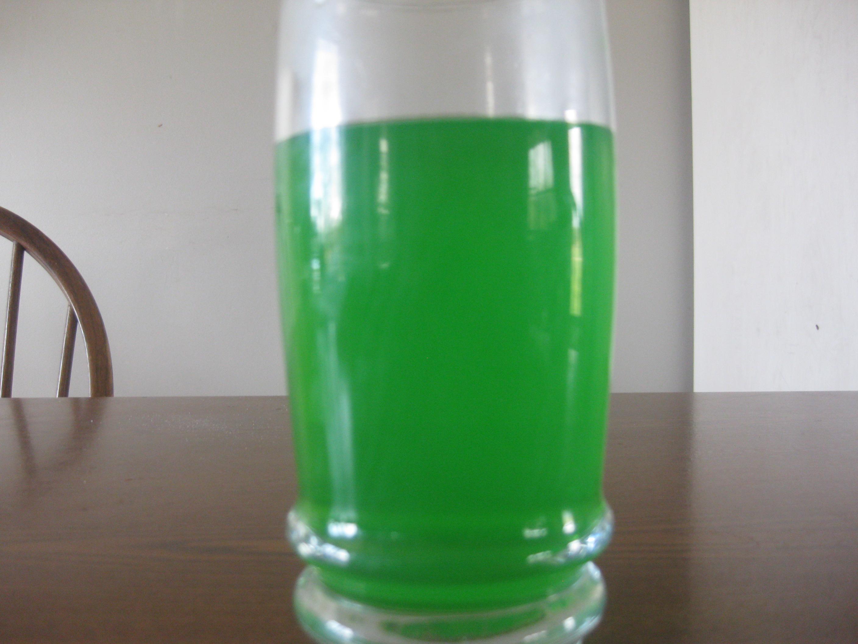 St. Patricks Green lemonade!