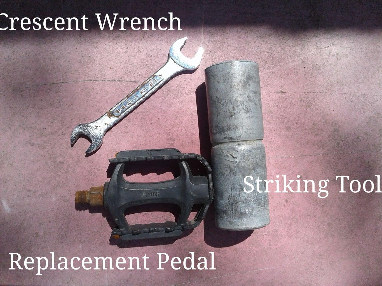 Replacing a Bike Pedal