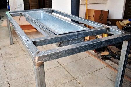 Metallic Frame - Square Tubes